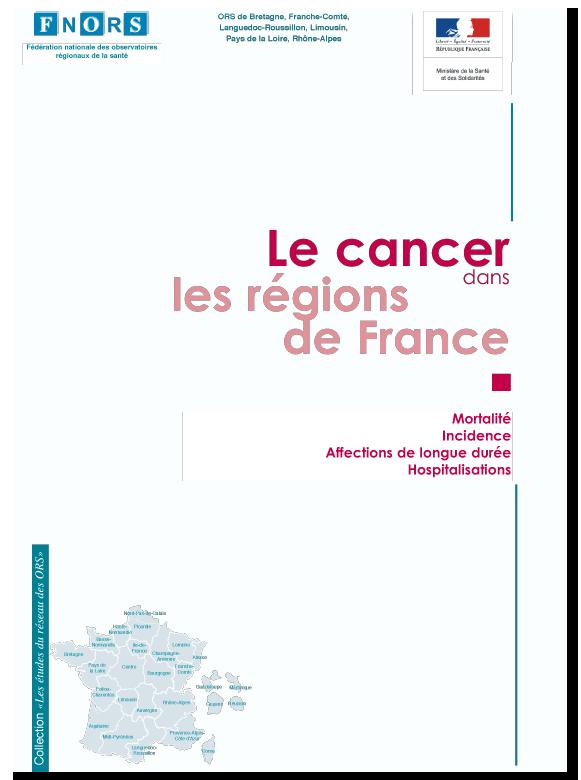 Cancer régions de France